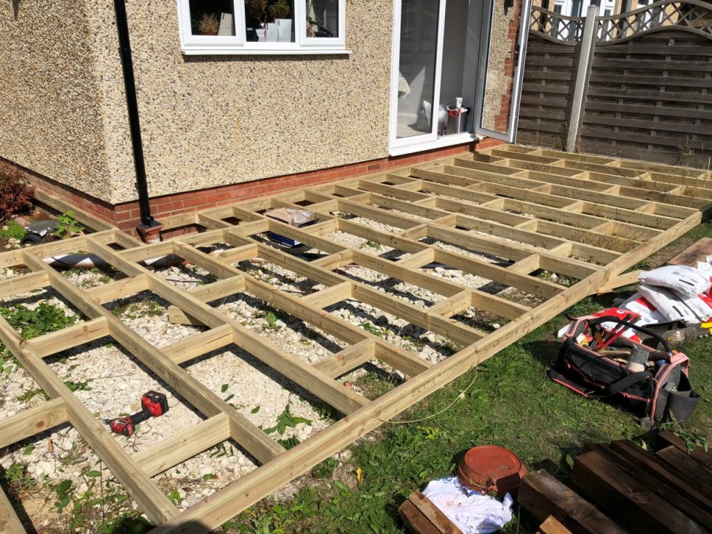 Decking installation Chelmsford