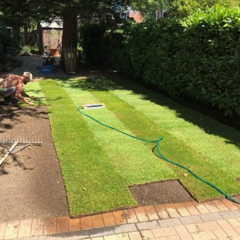 Turfing installation Essex
