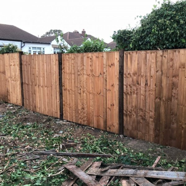 Timber fencing Essex