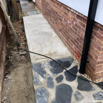 Concrete path Chelmsford Essex