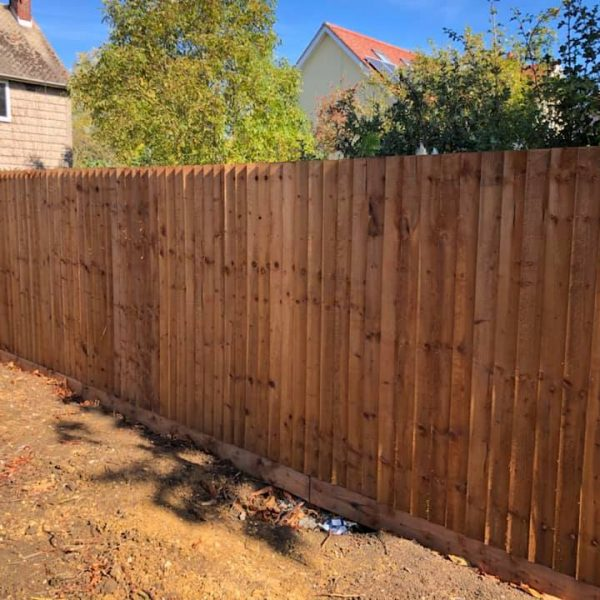 Close boarded timber fencing Chelmsford