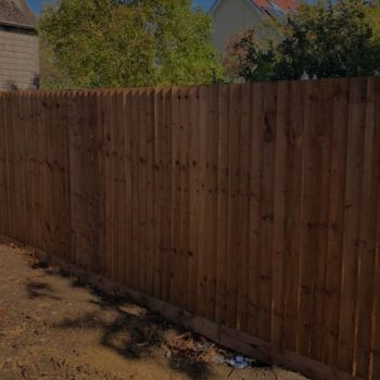 Timber fencing Chelmsford Essex