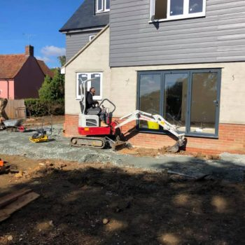 Mini digger hire chelmsford essex