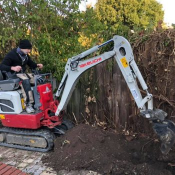 Digger hire Chelmsford
