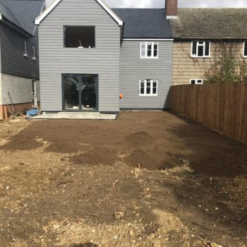 Turf laying in Chelmsford, Essex