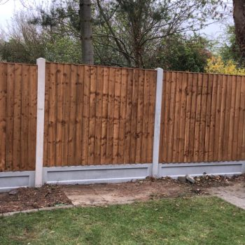 Close boarded fencing in Chelmsford
