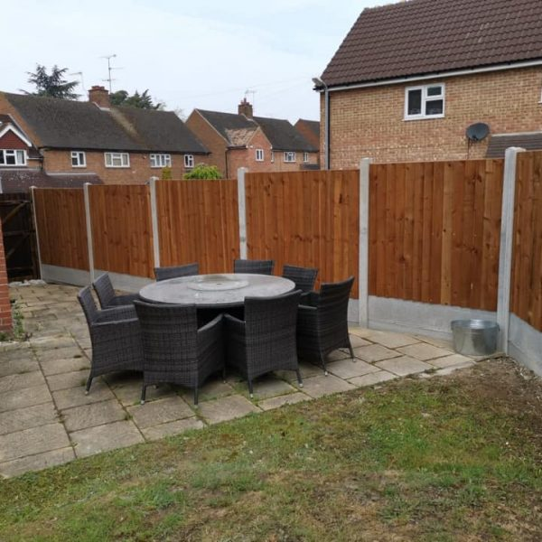 Close boarded fencing Chelmsford