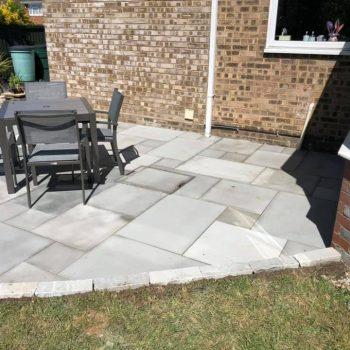 Grey Indian Sandstone patio
