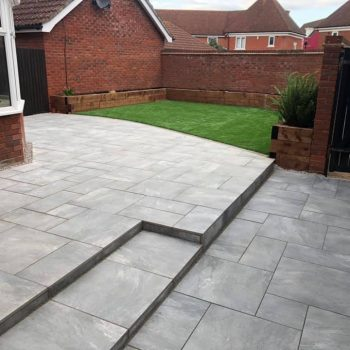 Porcelain and astroturf in Chelmsford, Essex