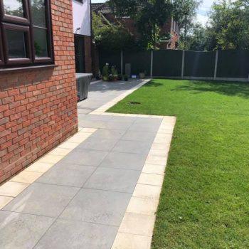 Full garden landscape chelmsford
