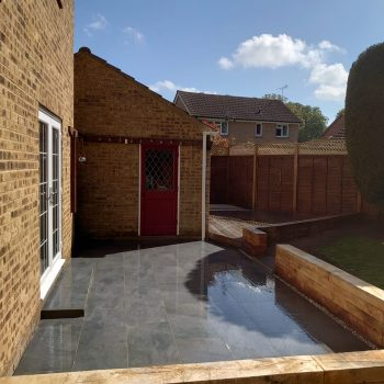 Decking and patio in Braintree